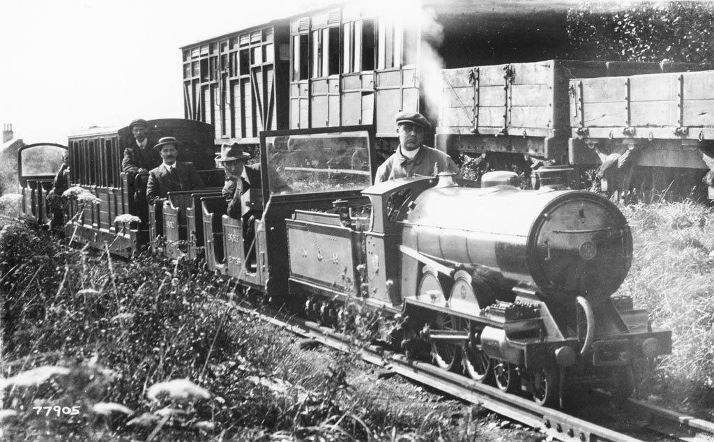 Ravengalss Eskdale Railway in 1915