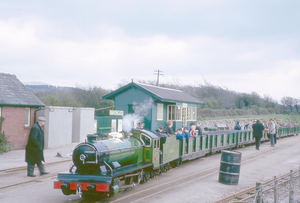 Ravengalss Eskdale Railway in 1960