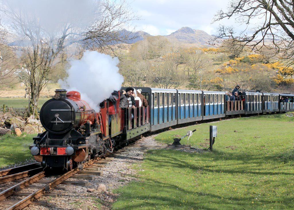 Ravengalss Eskdale Railway in 2017