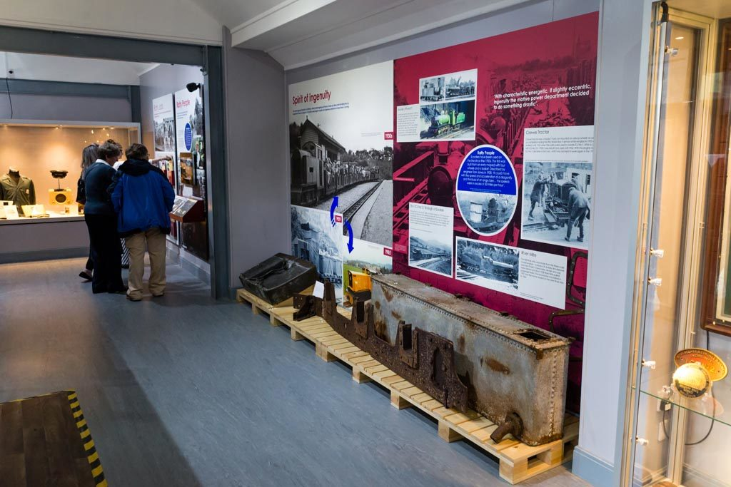 Ravenglass Railway Museum exhibition