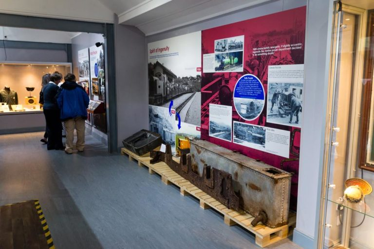 Ravenglass Railway Museum exhibition