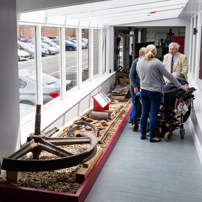 Ravenglass Railway Museum exhibit