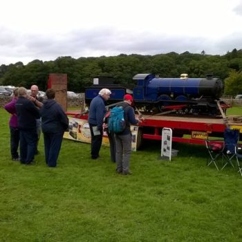 museum engine Synolda at Eskdale Show