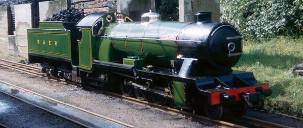Ravenglass Eskdale Raiway Train
