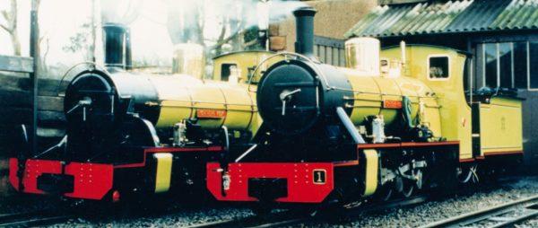 Ravenglass Eskdale Raiway Trains