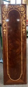 """Restored marquetry panel from """"Maid of Kent"""""""